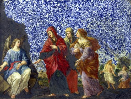 The Holy Women at the Tomb by Giovanni Francesco Romanelli