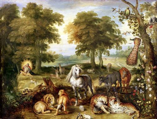 Terrestrial Paradise by Jan Brueghel the Elder