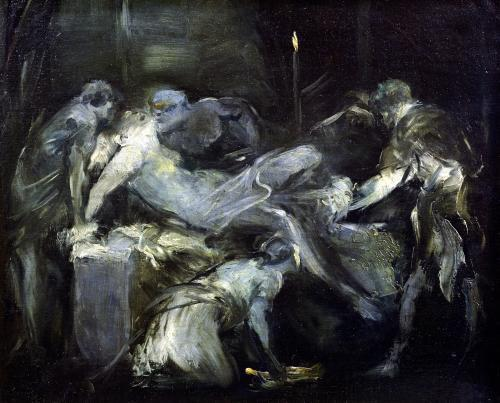 The Birth Scene by Jean-Baptiste Carpeaux