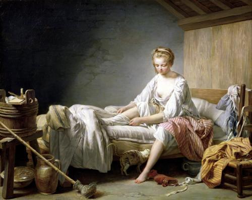 Le Lever de Fanchon by Nicolas-Bernard Lepicie