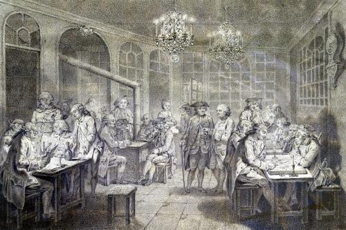 Interior of the Cafe Manouri c.1775 by Jacques Treton de Vaujas