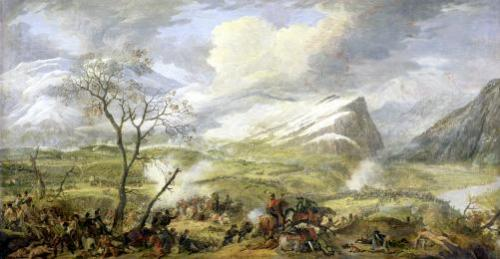 The Battle of Rivoli 1797 by Baron Louis Albert Bacler d'Albe