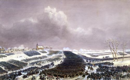 The Battle of Eylau 1807 by Jean Antoine Simeon Fort