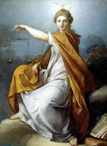 Justice by Pierre Subleyras