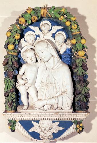 Virgin and Child by Andrea Della Robbia
