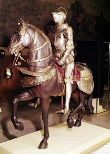 Equestrian armour of Francis I by French School