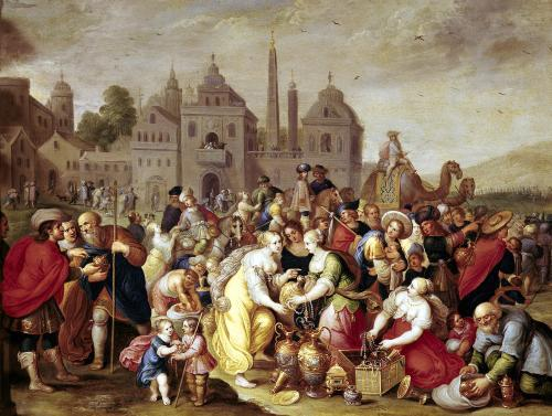 The Vases of the Egyptians by Frans Francken The Younger