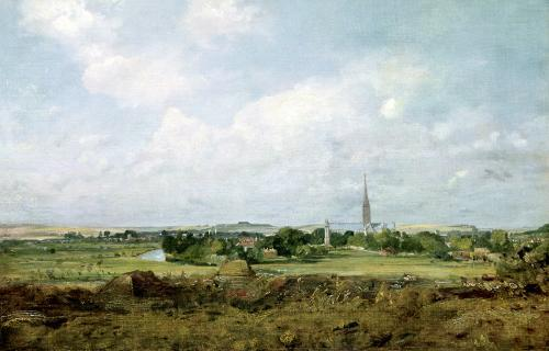 View of Salisbury by John Constable