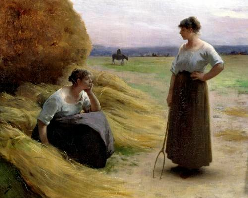 The Harvesters by Henri Lerolle