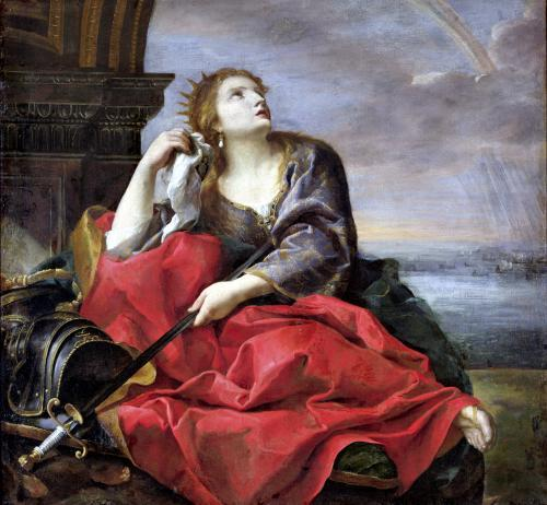 The Death of Dido by Andrea Sacchi