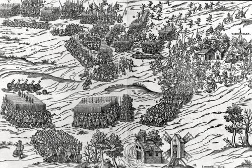 The Battle of Dreux 1562 by J. J. Perrissin & J. Tortorel