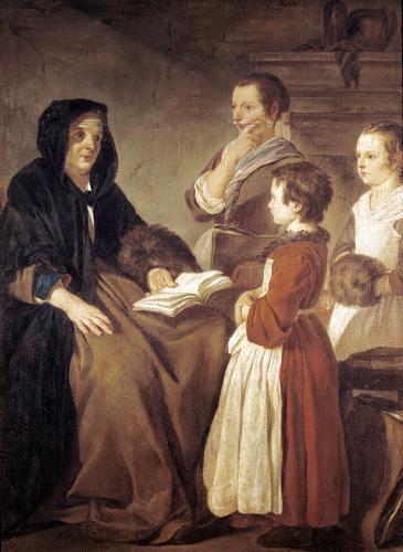 The Schoolmistress by Jean Baptiste Marie Pierre