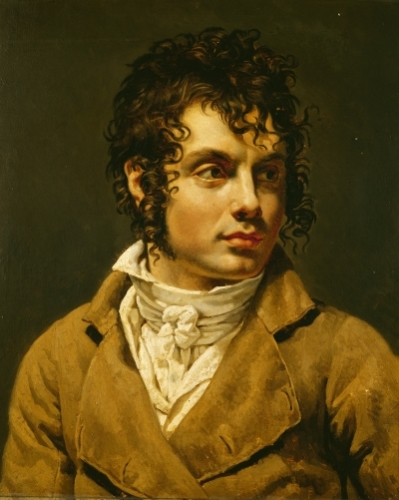 Portrait of a Man by Anne Louis Girodet de Roucy-Trioson