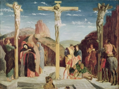 Calvary by Edgar Degas