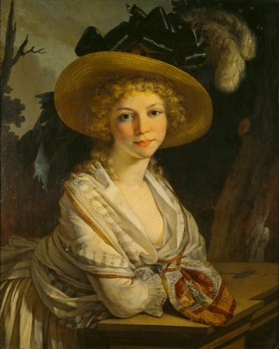 Portrait of a Young Woman by Pierre-Paul Prud'hon