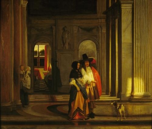 Leaving for the Walk by Pieter de Hooch
