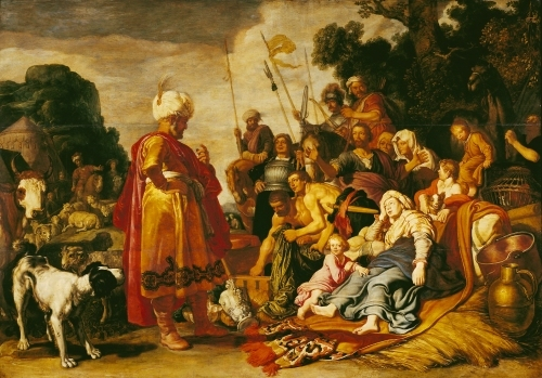 Laban Searching for the Idols by Pieter Lastman