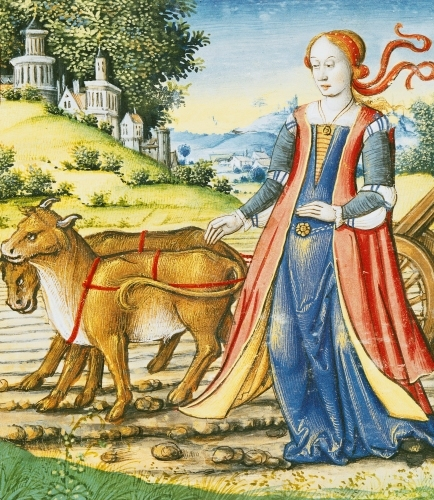 Ms 17 Ceres c.1505 by French School