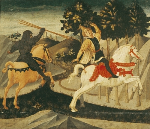 The Death of Absalom by Francesco di Stefano Pesellino