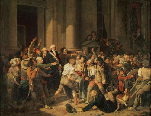 Act of Courage of Monsieur Defontenay 1792 by Louis-Leopold Boilly
