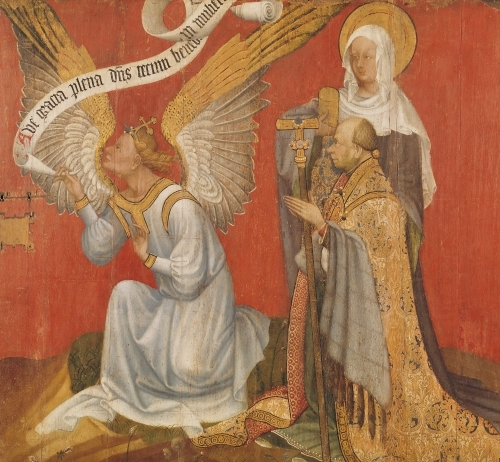 Angel of the Annunciation by Master of the Rohan Hours