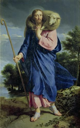 The Good Shepherd c.1650 by Philippe de Champaigne