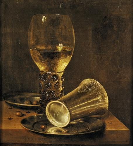 Still Life with a Goblet 1653 by Willem Claesz Heda