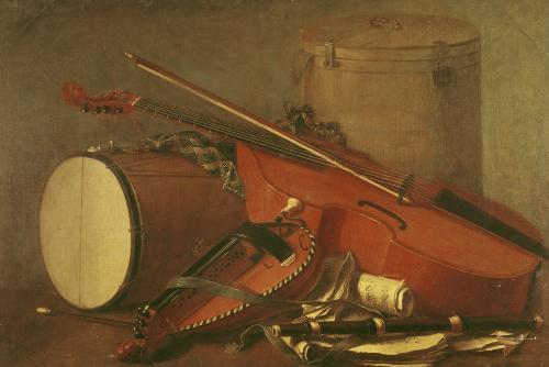 Musical Instruments by Henri-Horace Roland De La Porte