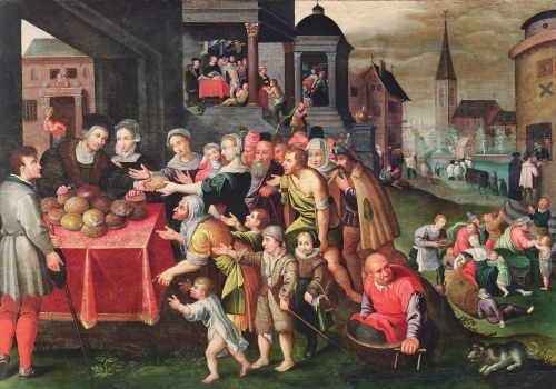 The Works of Mercy by Flemish School