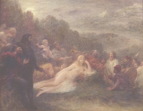 Helen 1892 by Ignace-Henri-Théodore Fantin-Latour