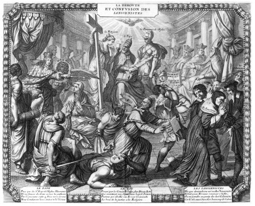 The Rout and Confusion of the Jansenists by French School
