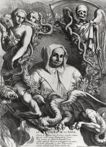 Portrait of Catherine Monvoisin by French School