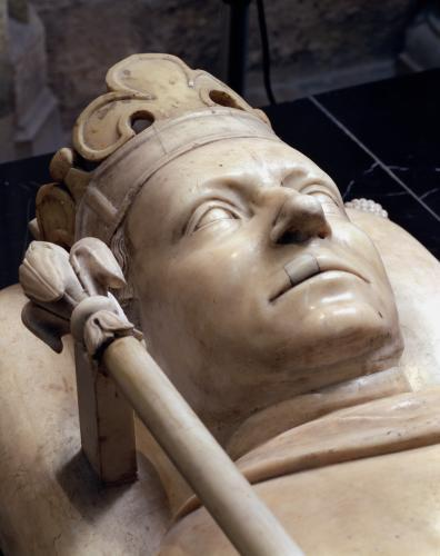 Effigy of Charles VI the Mad by French School
