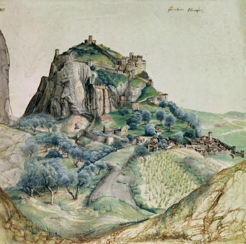 View of the Arco Valley in the Tyrol 1495 by Albrecht Dürer
