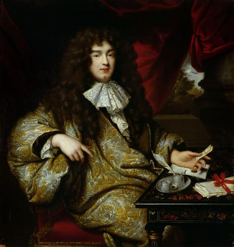 Jean-Baptiste Colbert Marquis de Seignelay 1676 by Jean-Marc Nattier
