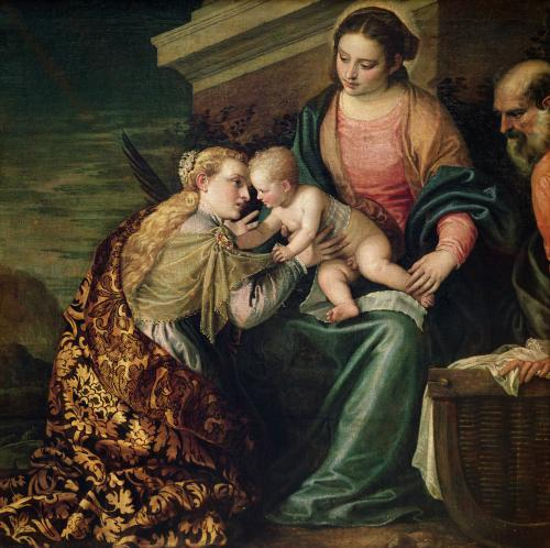The Mystic Marriage of St. Catherine of Alexandria by Paolo Caliari Veronese