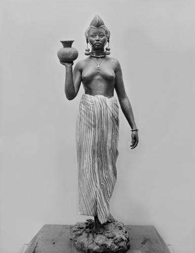 Foulah woman 1904 by Henri Allouard