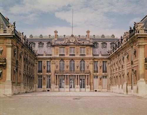 The Louis XIII Courtyard c.1630 by Louis Le Vau