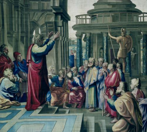 St. Paul Preaching at the Areopagus by Raphael