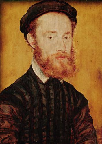 Portrait of a Man with Blonde Hair by Corneille de Lyon