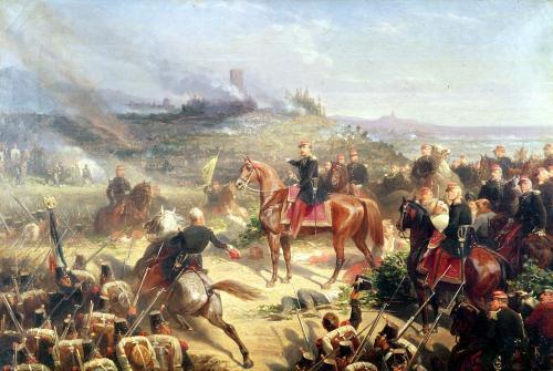 Battle of Solferino 1859 by Adolphe Yvon