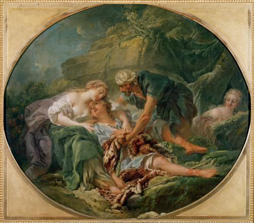 Amintas Brought Back to Life in the Arms of Sylvie by Francois Boucher