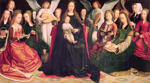 Virgin and Child with Saints c.1509 by Gerard David