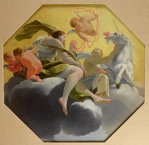 Temperance c.1637 by Simon Vouet