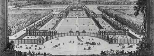 General Perspective View of the Chateau and Gardens of Richelieu by Jean Marot