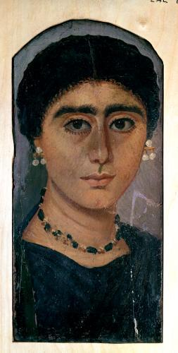 Portrait of a woman from Fayum (II) by Egyptian Art