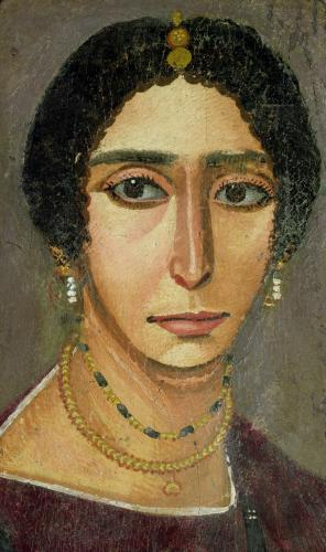 Portrait of a woman from Fayum (I) by Egyptian Art
