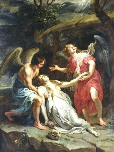 Ecstasy of Mary Magdalene c.1619 by Peter Paul Rubens