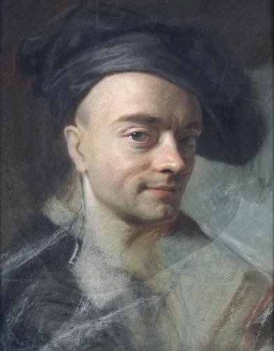 Self Portrait by Maurice Quentin de la Tour