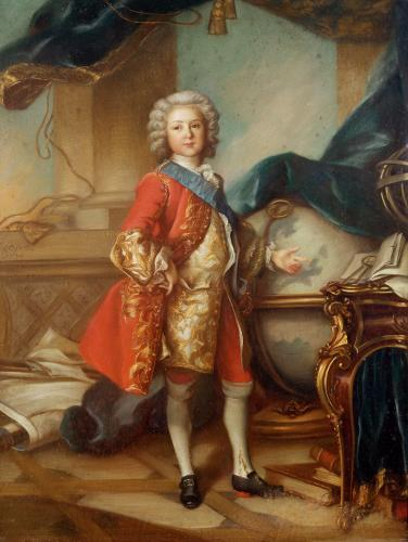 Dauphin Charles-Louis of France by Louis Tocque